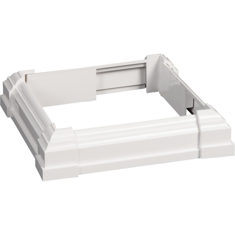 Beechdale 6 In. W. x 6 In. L. PVC White Post Trim Collar Image 1