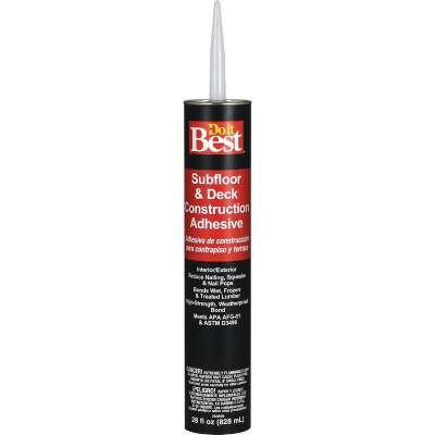 Do it Best 28 Oz. Decking And Subfloor Adhesive