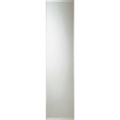 Erias Home Designs 16 In. W. X 60 In. H. Frameless Beveled Edge Door Mirror