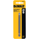 DeWalt Slotted #8 3-1/2 In. 1/4 In. Power Screwdriver Bit Image 1