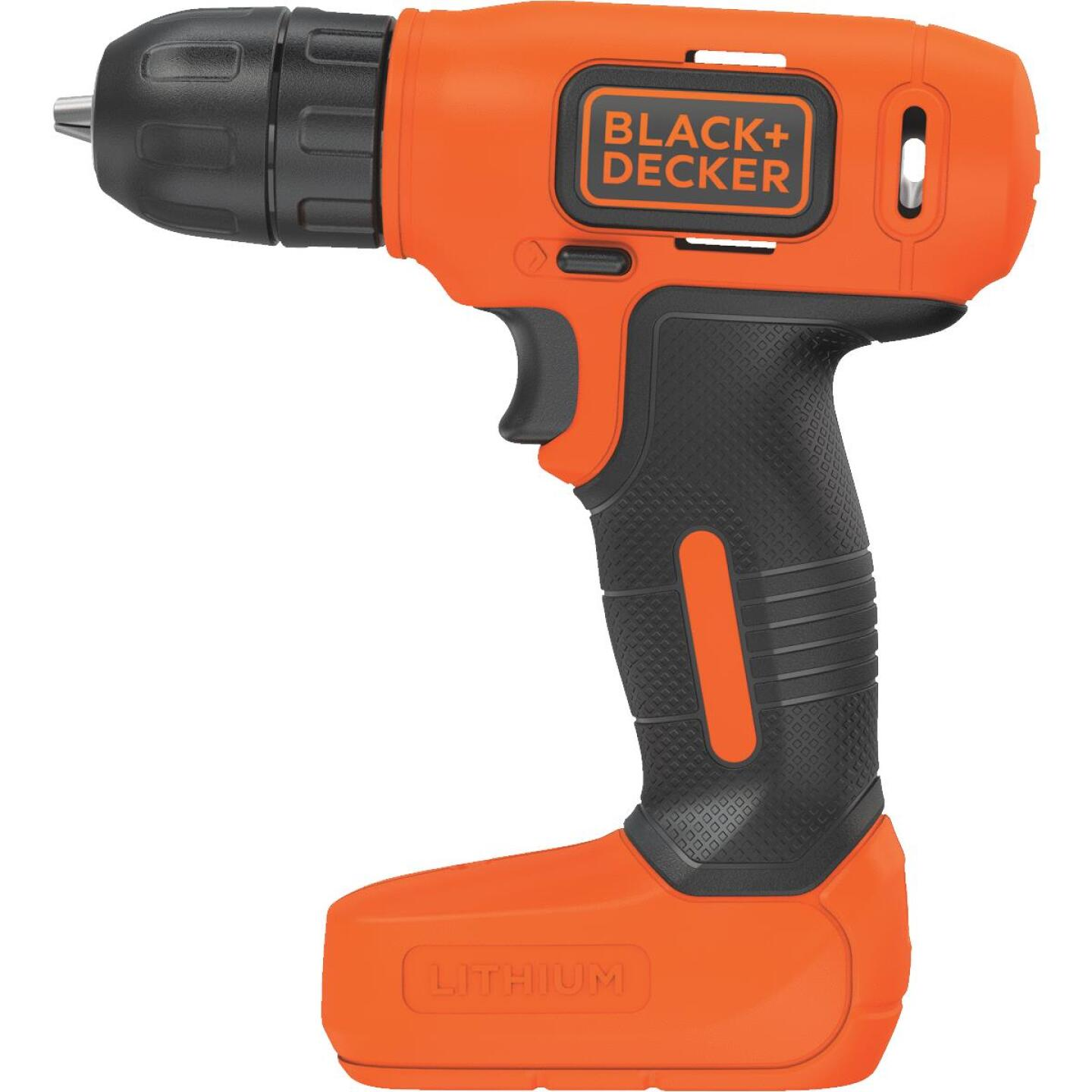 Black & Decker 8 Volt Lithium-Ion 3/8 In. Cordless Drill Kit Image 2