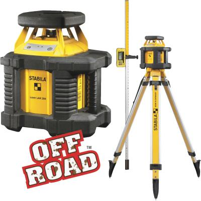 Stabila Off Road 100 Ft. Self-Leveling Rotary Laser Level