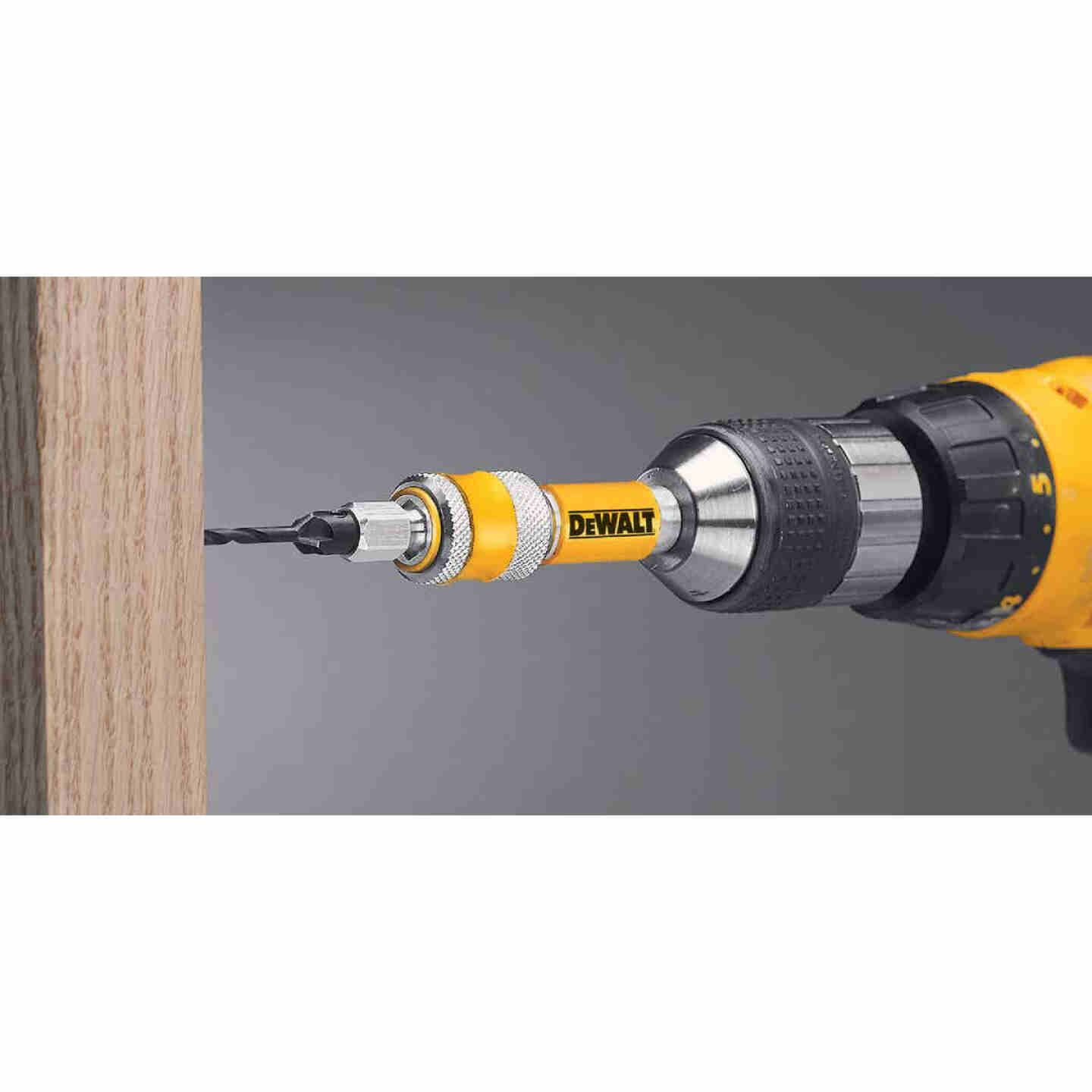 DeWalt #6 1/4 In. Black Oxide Drill & Drive Unit Image 2