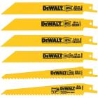 DeWalt 6-Piece Reciprocating Saw Blade Set Image 1