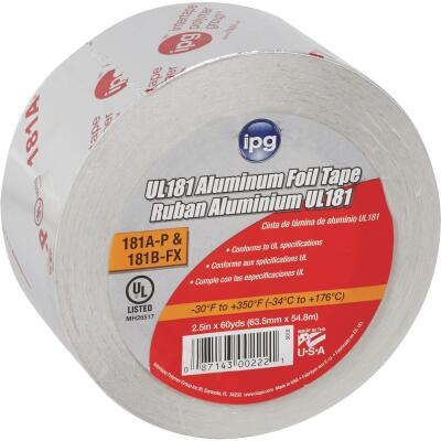 Intertape 2-1/2 In. x 60 Yd. UL 181 Aluminum Foil Tape