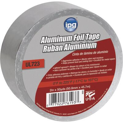Intertape 2 In. x 50 Yd. UL723 Aluminum Foil Tape