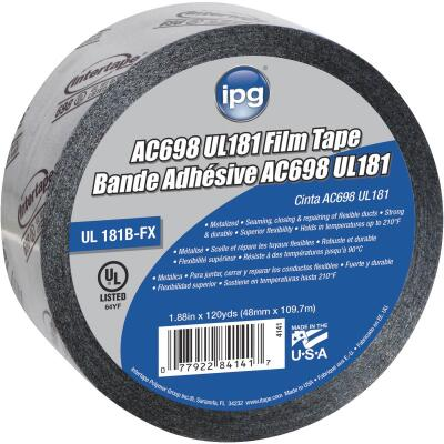 Intertape 2 In. x 120 Yd. AC698 UL 181 Film Foil Tape