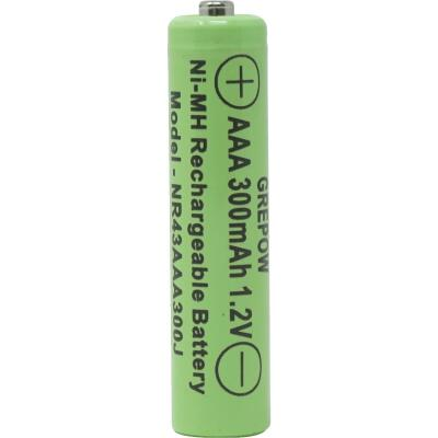 Moonrays Solar Rechargable AAA Replacement Battery (4-Pack)