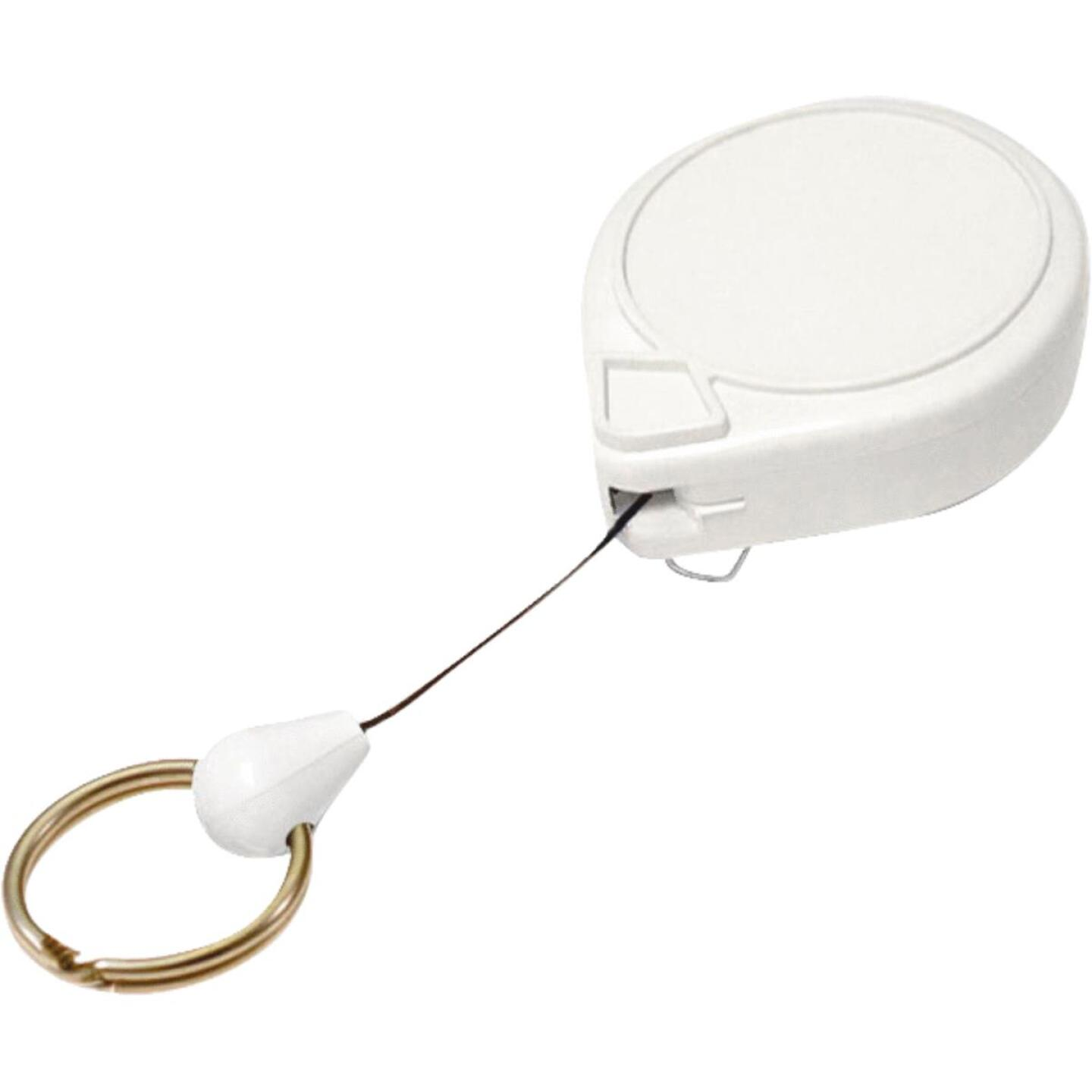 Lucky Line Flex-o-Loc Clip-On 36 In. Retractable Key Chain Image 1