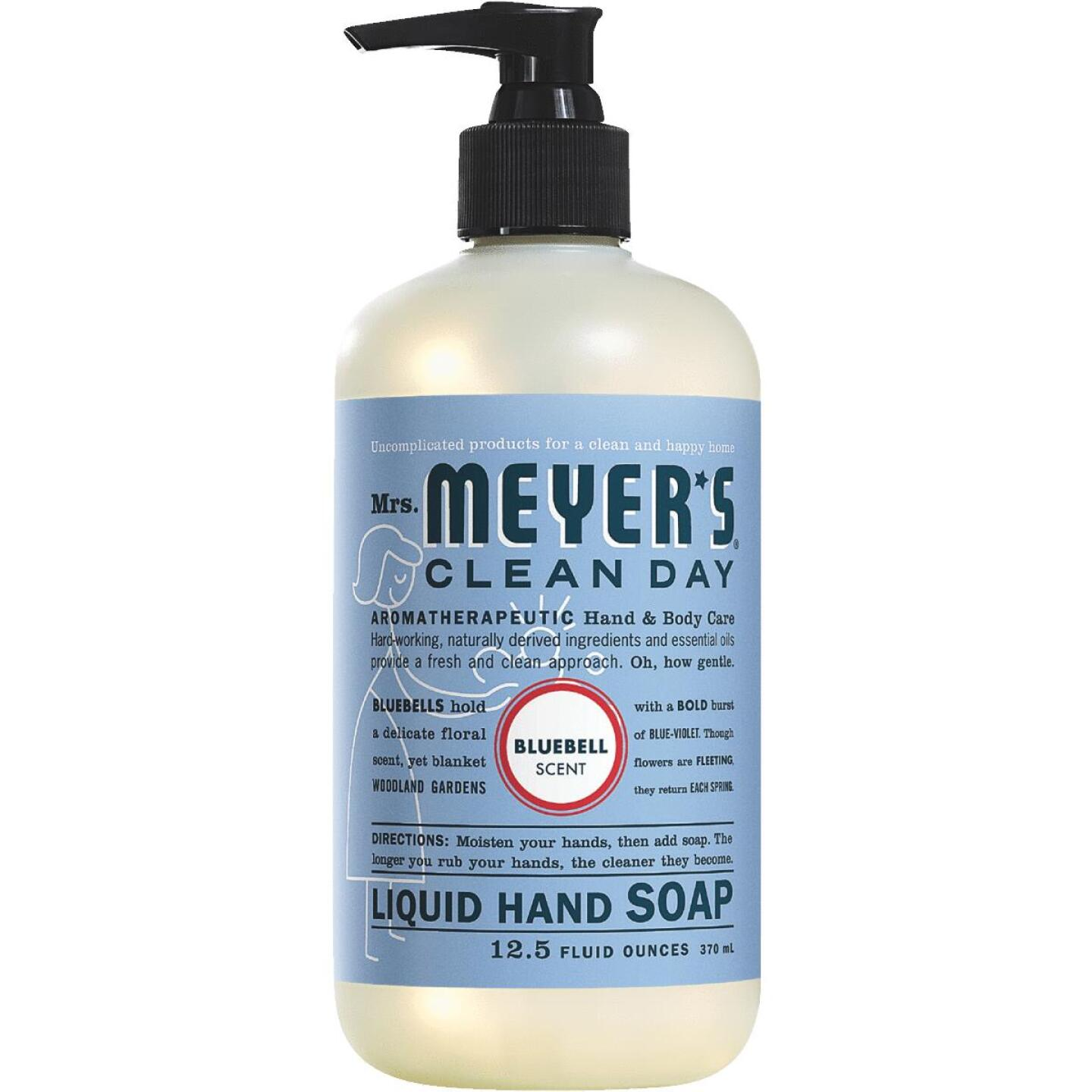 Mrs. Meyer's Clean Day 12.5 Oz. Blue Bell Liquid Hand Soap Image 1