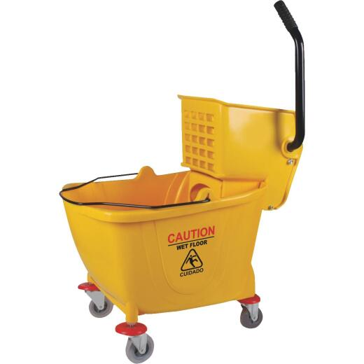 38 Qt. Side Press PVC Mop Bucket & Wringer