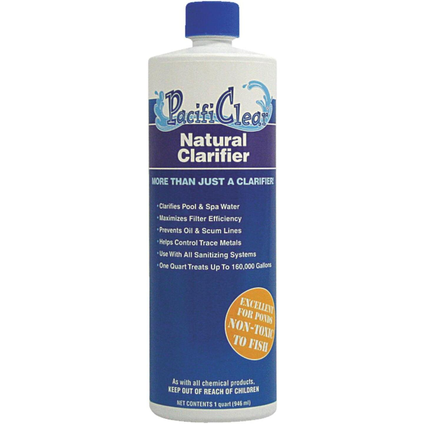 PacifiClear 1 Qt. Liquid Natural Clarifier Image 1