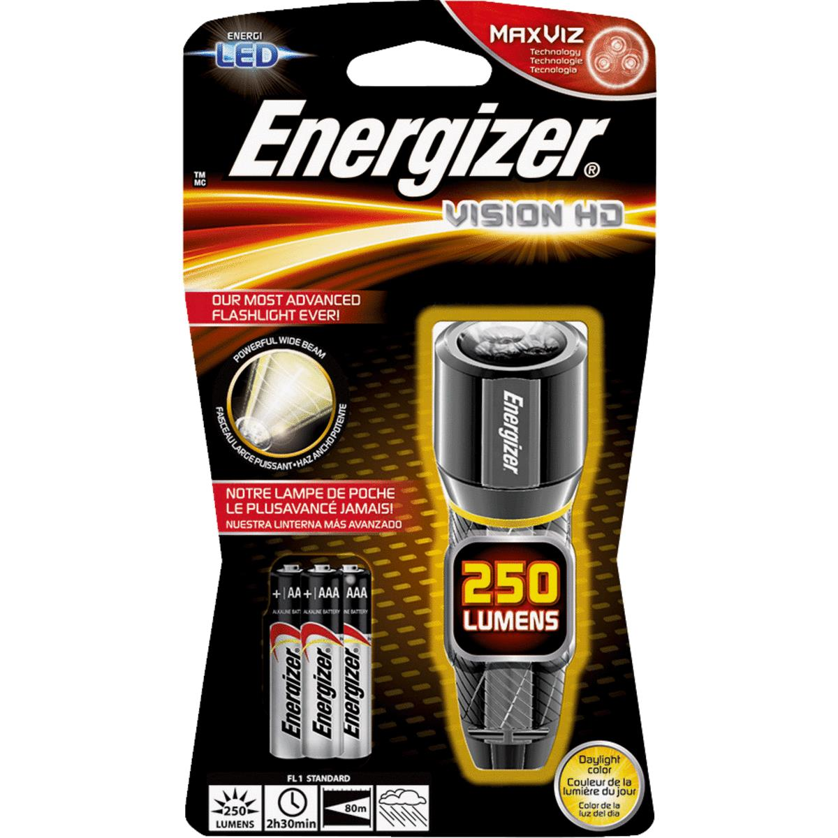 Energizer 407 Flashlight Bulb 4D//6V set of 4 bulbs