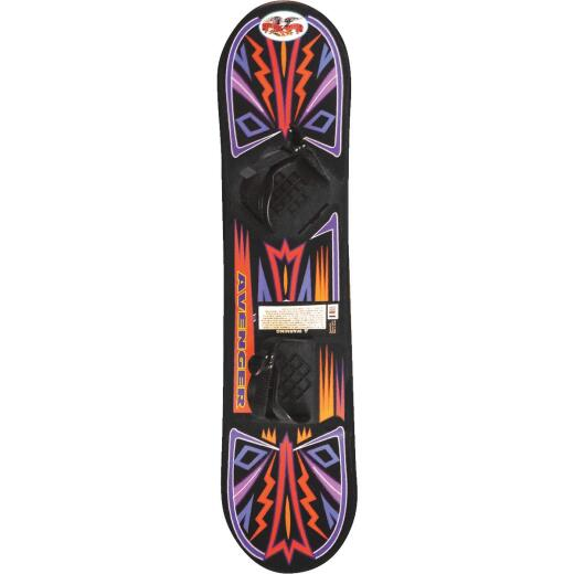 Flexible Flyer Avenger 37 In. Plastic Snowboard